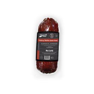 Cranberry Wild Rice Summer Sausage 16oz