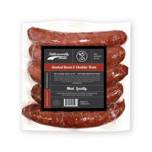 Smoked Bacon & Cheddar Brats 20oz